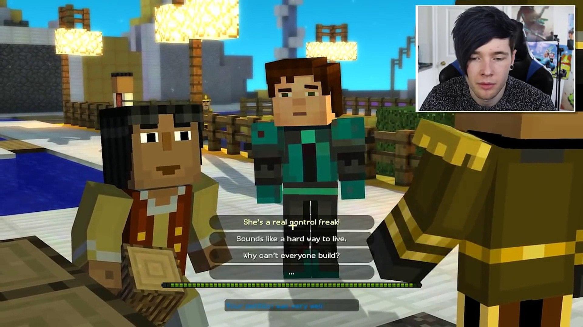 Minecraft Story Mode Secret Build Club Episode 5 2