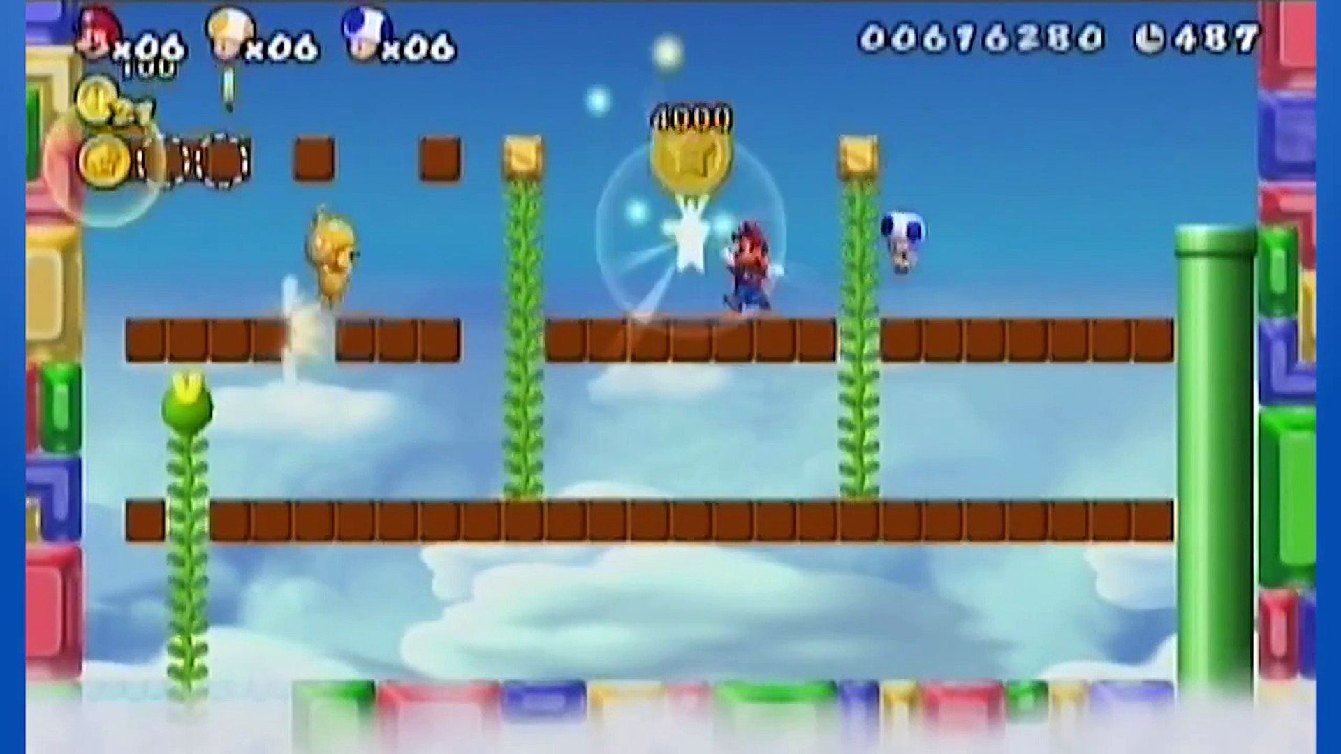 Super Mario Bros. Wii: Free Money! - Part 7 - Triple Force