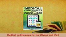 PDF  Medical coding apps for the iPhone and iPad Read Online