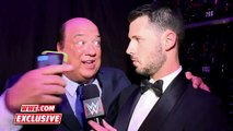 Paul Heyman rejoices after Lesnar's win over Ambrose- WrestleMania 32 Exclusive, April 3, 2016