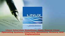 PDF  Linux Interview Questions Open Source Linux Operating Systems Interview Questions Anwers Download Full Ebook