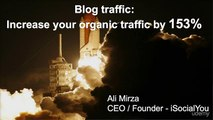 Blogging- Increase Blog Traffic Without Ads