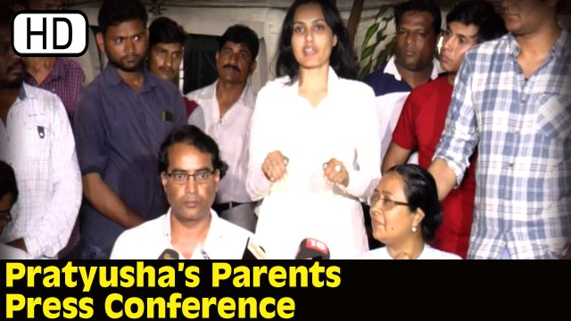 Pratyusha Bannerjee Suicide Case | Parents Press Conference | Important Facts