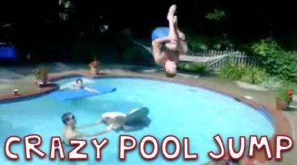 Crazy Pool Jump!