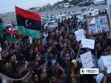 Libyan protesters ground Tunisian plane  - Press TV News