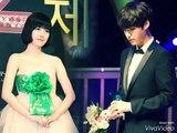 AhnGoo couple  Forever! (Ahn Jae Hyun ❤️ Goo Hye Sun) kiss scene
