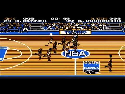 Tecmo NBA Basketball – First Half