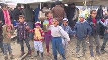 Los niños de Idomeni poden la apertura de las fronteras