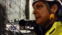 Chantier EDF de Romanche-Gavet : explications de Daniel Pierra