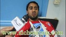 اللاعب خالد المليتي يروي تفاصيل الاعتداء الذي تعرض له في مركز أمني