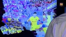 FCB Futbol Sala: visita a la exposición del Nuevo Palau Blaugrana [ESP]