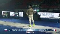 CM SH Junior Bourges 2016 - Finale Colleau (FRA) vs Kostenko (RUS)