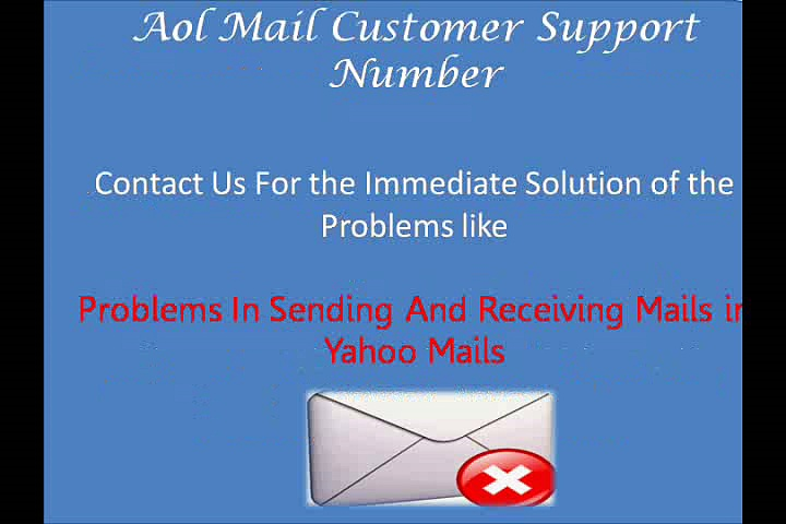 Aol Mail Customer Support And Technical Support Phone Number