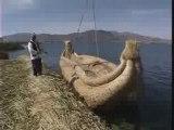 Le Lac Titicaca et les îles flottantes des Uros
