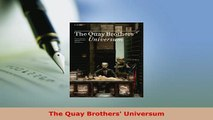 Download  The Quay Brothers Universum Free Books