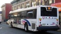 NJT NABI 40-SFW #6030 on the 22 to Hoboken (Outside) in HD