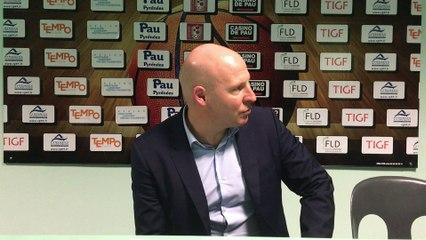 Eric Bartecheky (Conf. de presse Elan - Monaco)