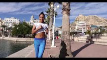 Yoga pants jogging workout fitness girls motivation, Jogging and Walking Exercise for Weig