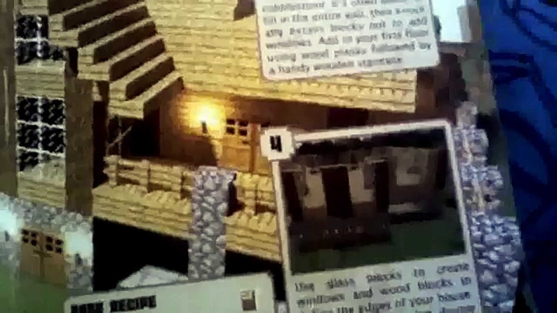 Minecraft Construction Handbook: Wooden House Tutorial - video