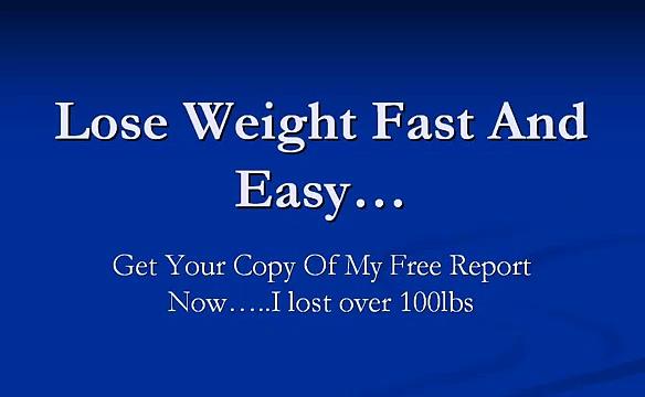 Men Lose weight