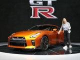 A bord de la Nissan GT-R