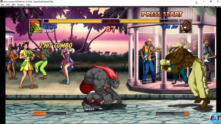 [Xbox 360 Emulator] Xenia - Super Street Fighter II Turbo HD Remix