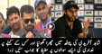 Muhammad Hafeez is Replying on Fighting Question With Shahid Afridi
