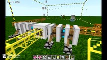 Minecraft: How to make a quarry in buildcraft 1 8 1 - video
