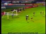 Sporting - 3 Dinamo Zagreb - 0, de 1982/1983 Taça Campeões Europeus