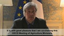 Présentation de la réunion des ministres de l'agriculture à l'OCDE