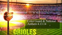 Caissons at Camden Yards (Orioles video)