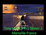 Tony Hawk's Pro Skater 2 Gameplay- Marseille France