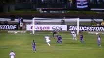 1º gol (Lucas) do São Paulo x Tigre - Final copa Sul-Americana 2012 SPFC 2x0