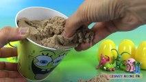 Bob l'éponge Oeufs Surprise Playfoam Sable Magique ♥ Spongebob Squarepants Kinetic Sand