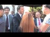 Napoli - Renzi in visita al carcere minorile di Nisida (06.04.16)