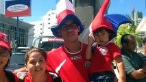 Costa Rica tem torcida garantida no Recife