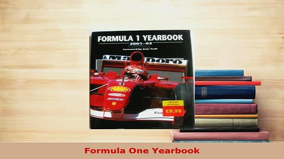PDF  Formula One Yearbook Read Online
