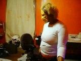 My Mom Doin M.J., while doin facials