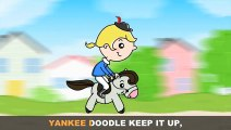 Yankee Doodle with Lyrics - Childrens Nursery Rhymes Song by eFlashApps