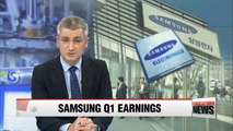 Samsung Electronics posts better than expected earnings in Q1