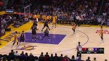 Kobe Bryant s Tough Reverse Layup   Clippers vs Lakers   April 6, 2016   NBA 2015-16 Season
