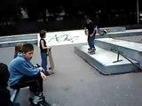 simon boardslide