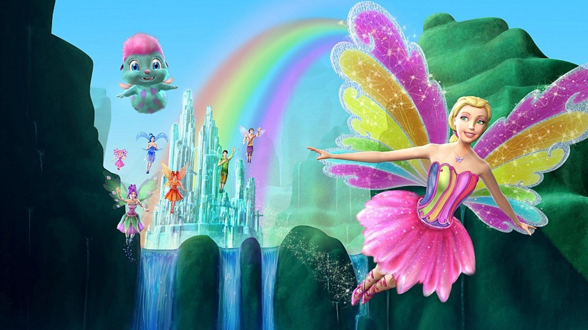 Barbie Magic of the Rainbow Movie Poster 22x28   Barbie fairytopia ...   1080x1920