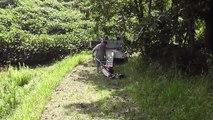 畦草刈機試運転