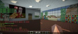 Minecraft Creative World 1.7.10: Building Houses With My Friends