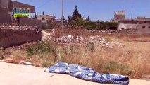 شام ريف إدلب تفتناز قصف عنيف لقوات الأسد يستهدف البلدة 17 6 2015