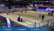Barbara Barthet égalise le record du monde du tir progressif au France Tirs 2016, Sport Boules, Dardilly 2016