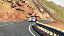 DiRT RALLY: Pikes Peak Sector 3 - Peugeot 405 T16  (lost it at the end...)
