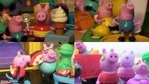 Peppa Pig Rebecca Rabbit Robert Rabbit and Mummy Rabbit Peppa Friends Peppa Pigs Rabbit Family