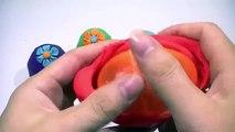 PLAY DOH FLOWER EGGS!!!  kinder surprise eggs peppa pig español, xitrum videos